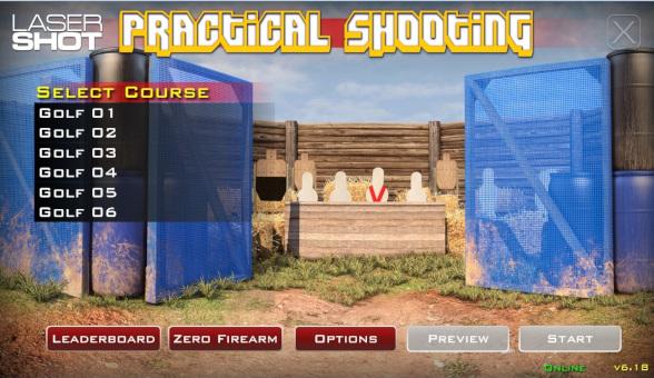 Practical Shooting Golf