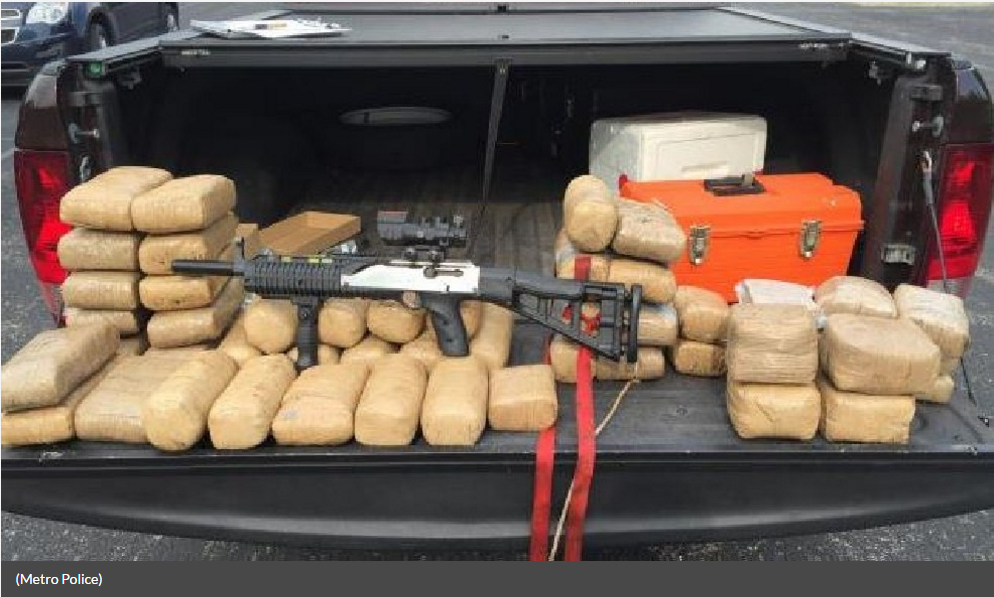 Metro: 47 kilos of cocaine worth $2 million seized in Joelton area