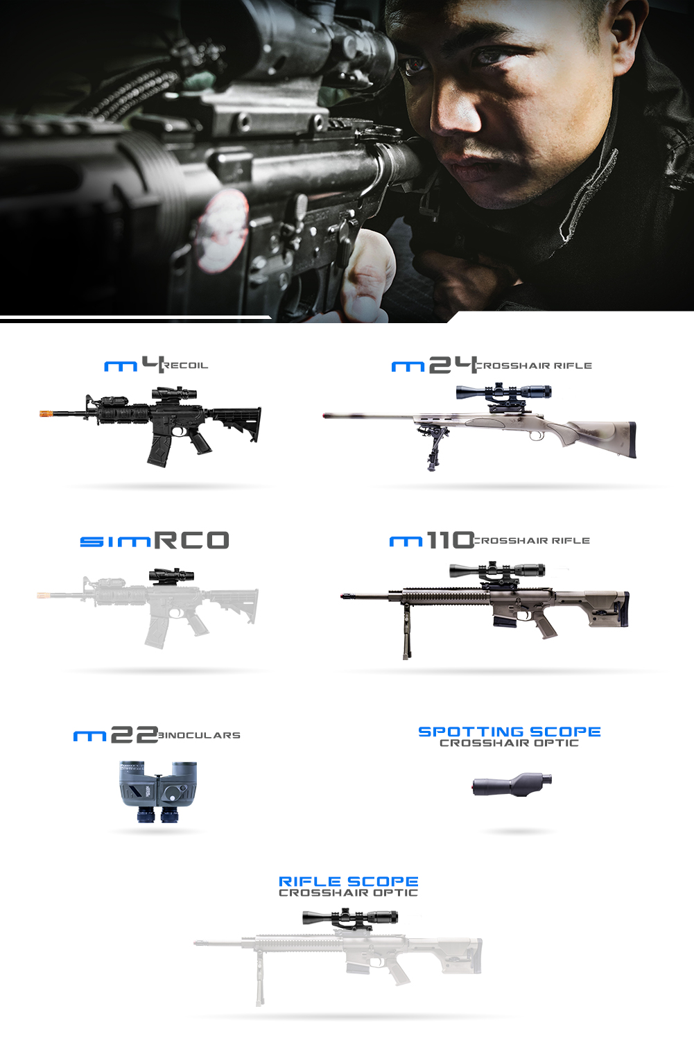 Crosshair Weapons Graphic LE
