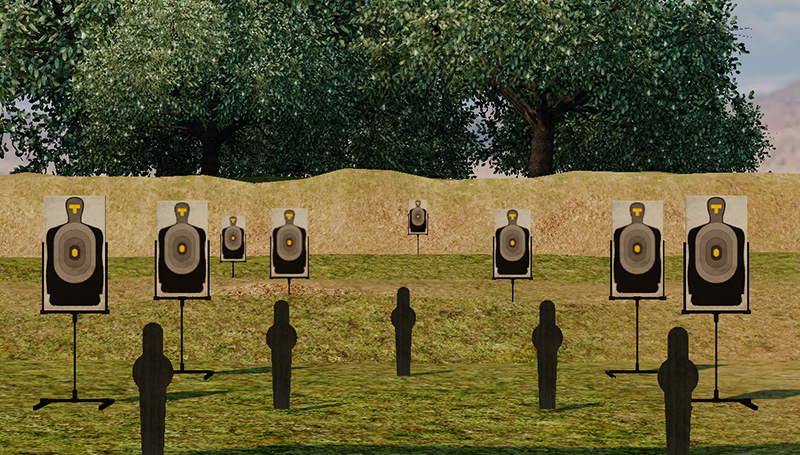 ShootingRange GrassScene